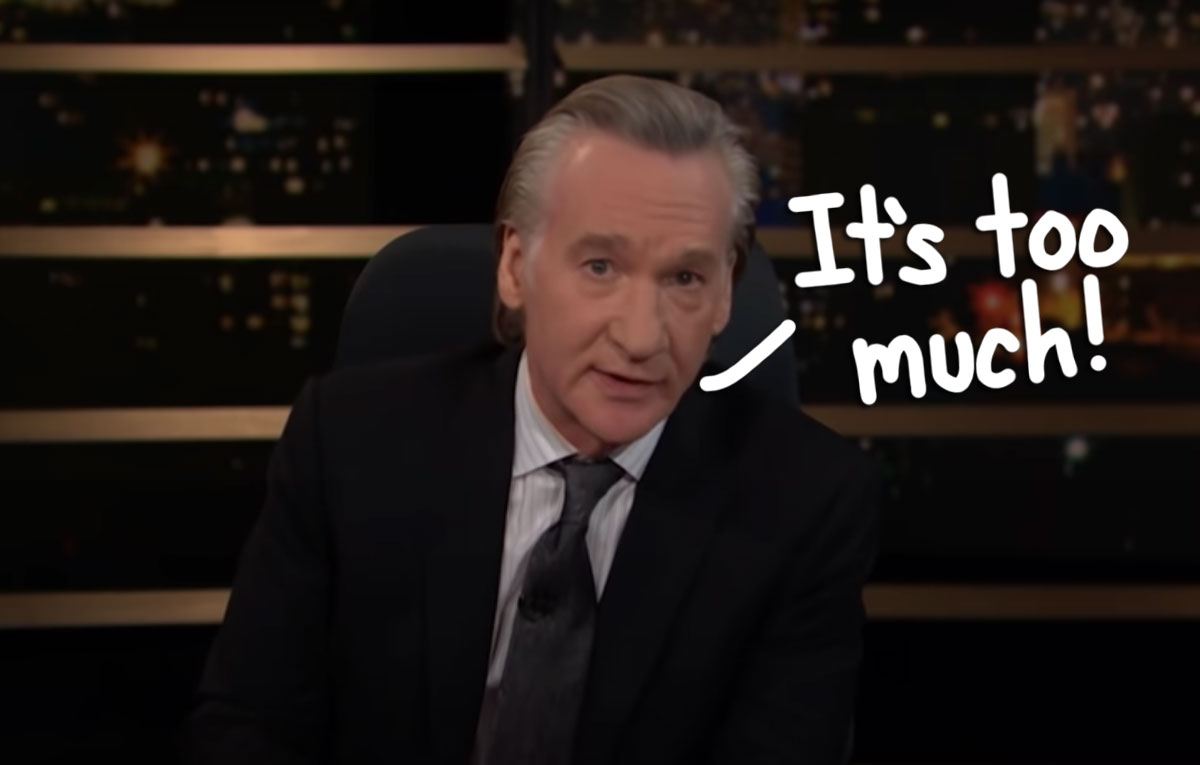 Bill Maher Claims Cancel Culture Is Ruining America -- And Cites Chris Harrison & The Bachelor As Proof!