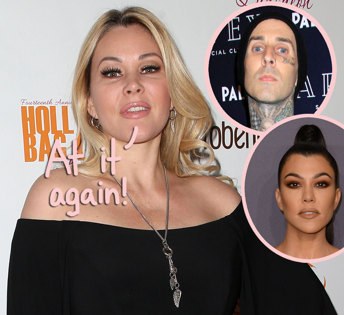 Shanna Moakler Shades Kourtney Kardashian & Travis Barker AGAIN! This Is What She Did This Time…