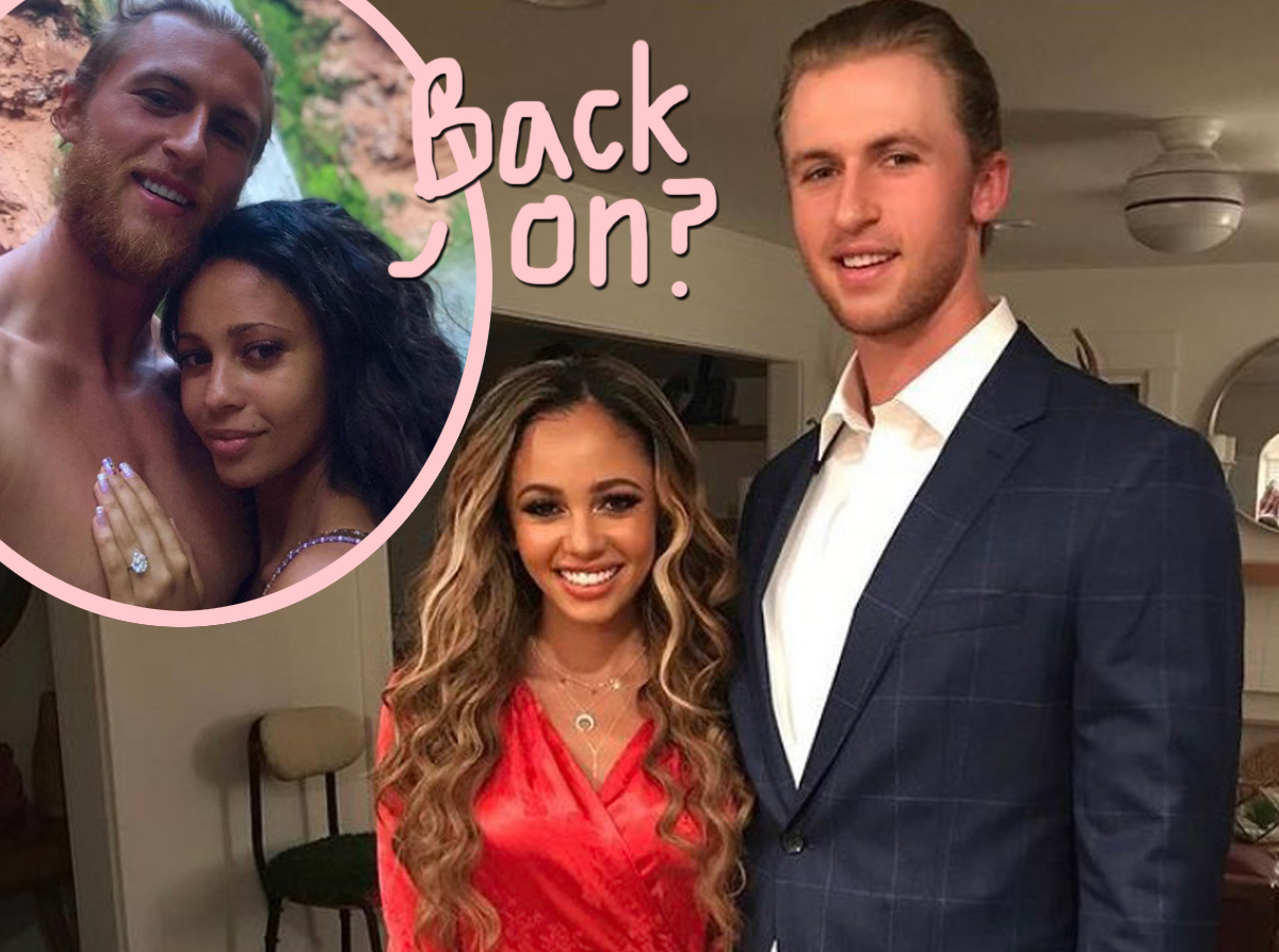 Are Vanessa Morgan & Estranged Husband Michael Kopech Back Together After Their Son's Birth?