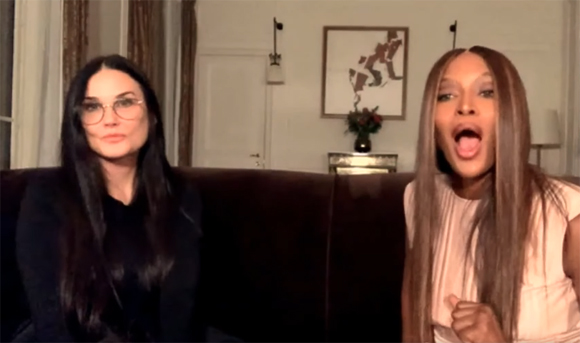 Demi Moore on Naomi Campbell YouTube show