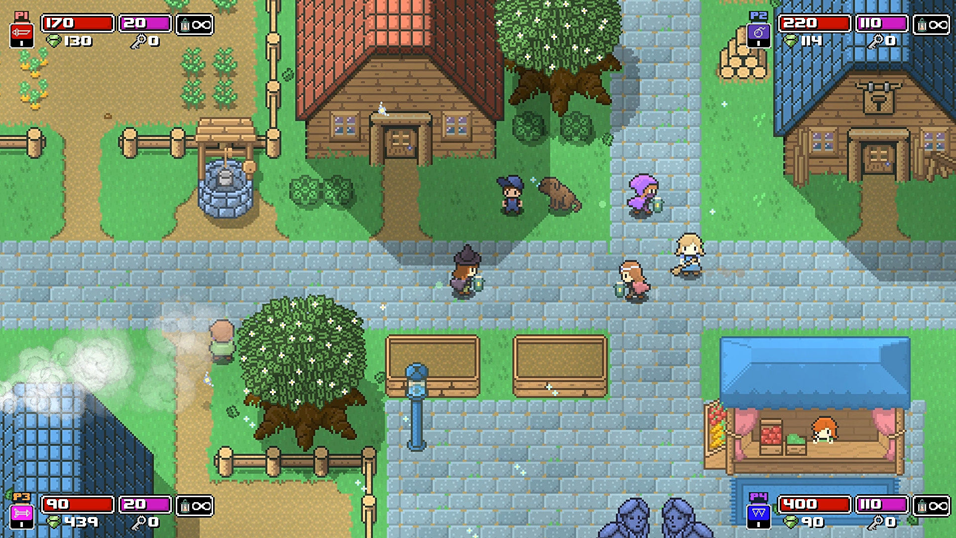 Co-op Zelda-like Rogue Heroes is out now