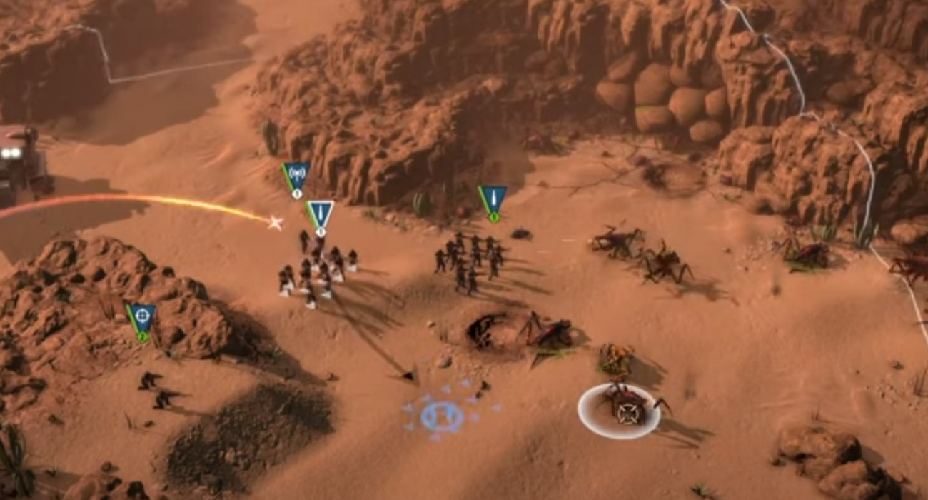 Starship Troopers: Terran Command Has A New Trailer Out Now