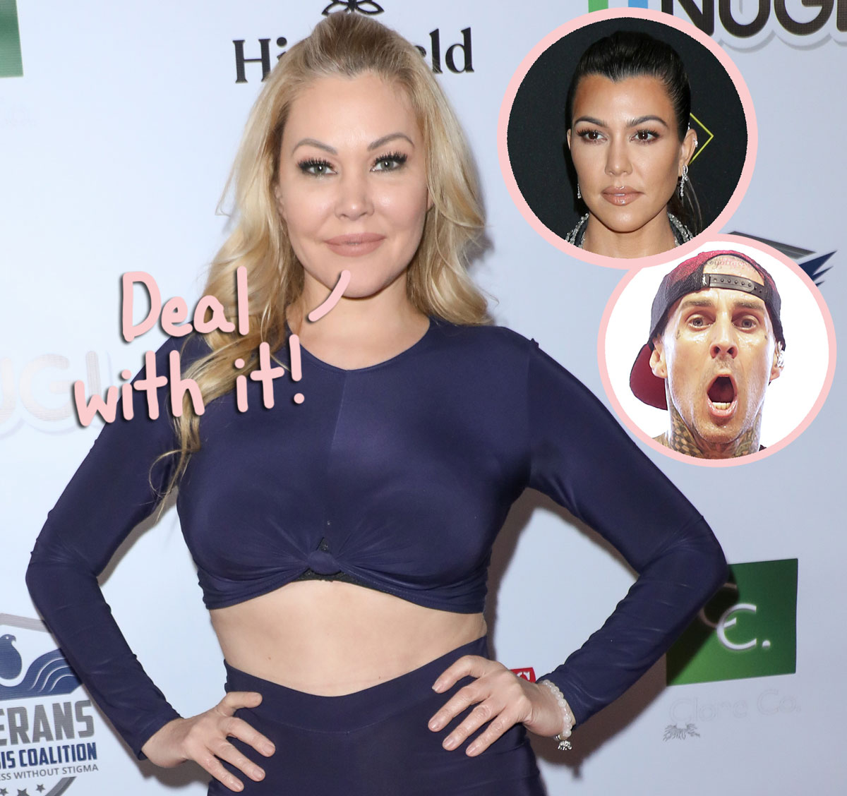 Travis Barker's Ex Shanna Moakler Reacts To Comment Claiming He 'Downgraded' To Kourtney Kardashian!