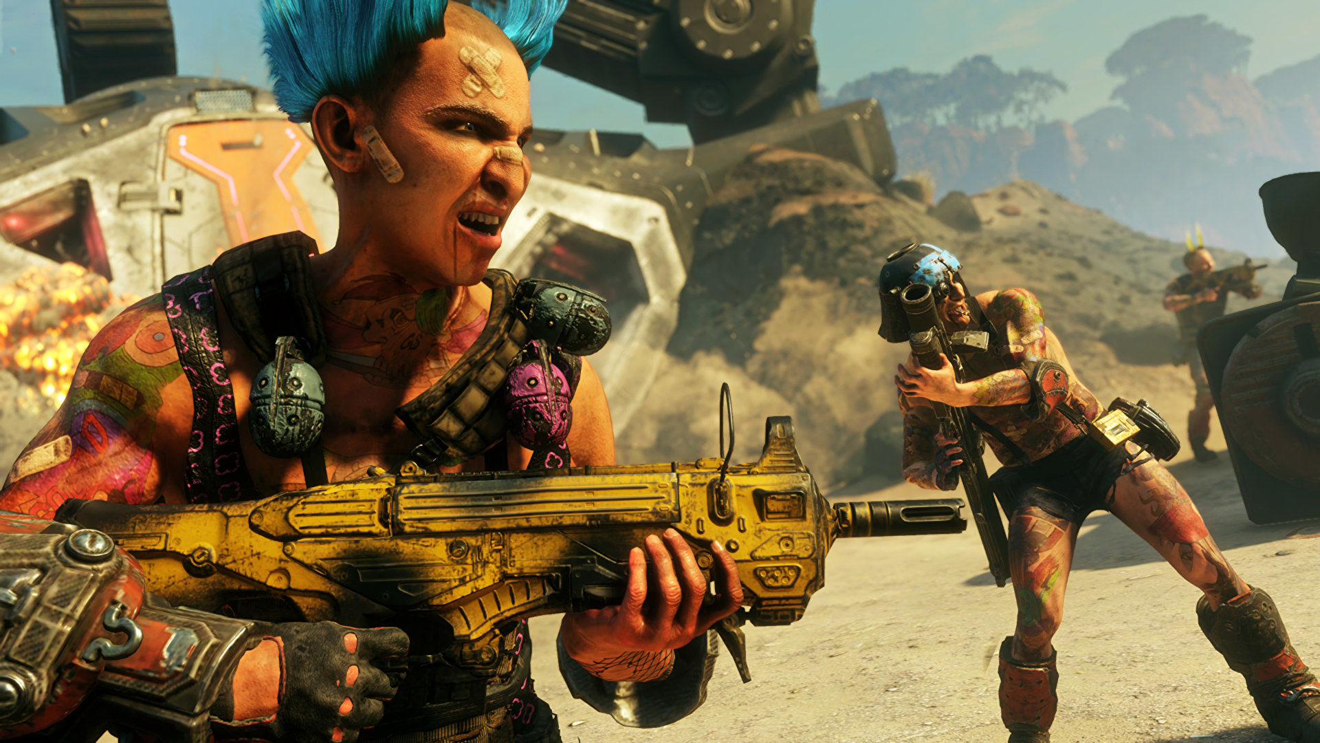Rage 2 will be free on the Epic Games Store next week