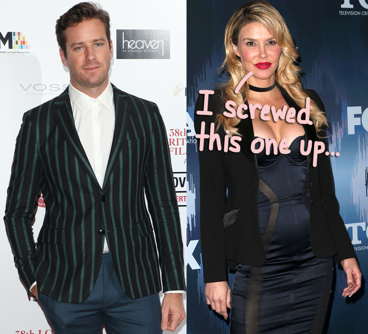 Brandi Glanville 'Learned Her Lesson' With Troublesome Armie Hammer Tweet — Read Her NEW Statement!