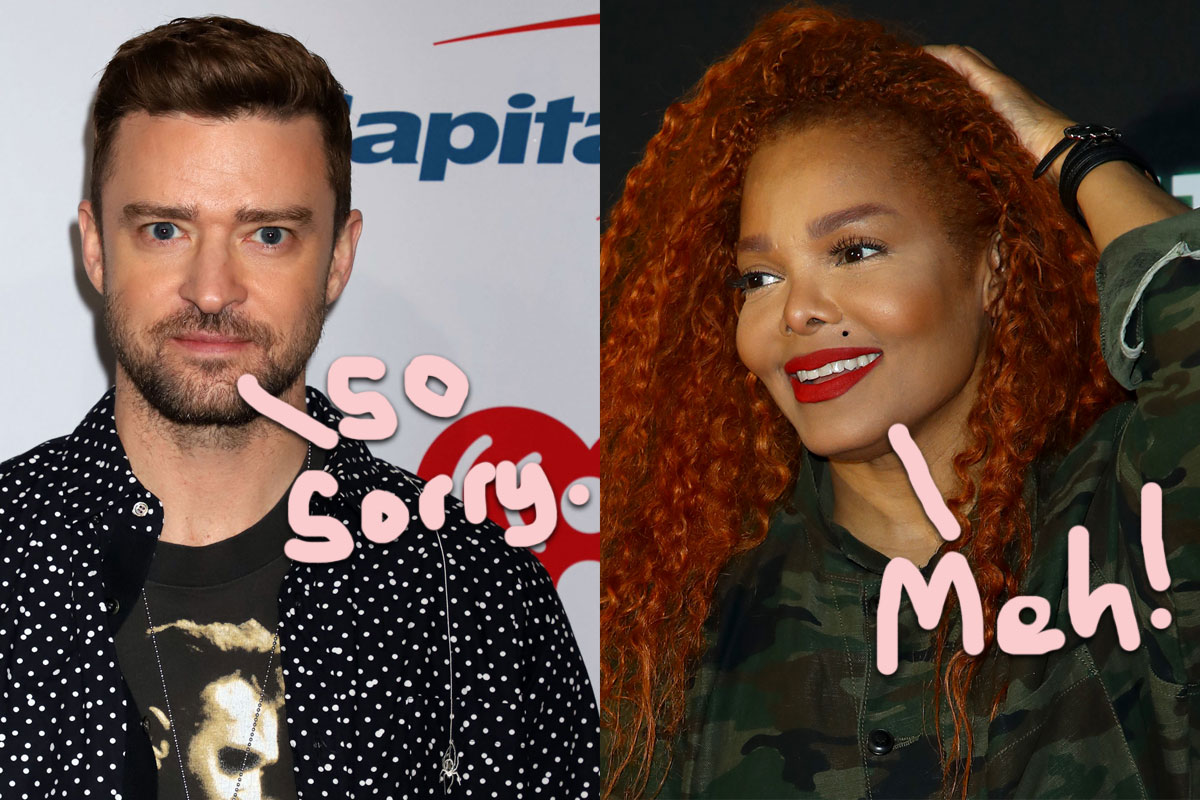 Janet Jackson Briefly Acknowledged The Justin Timberlake Apology — Or Did She??