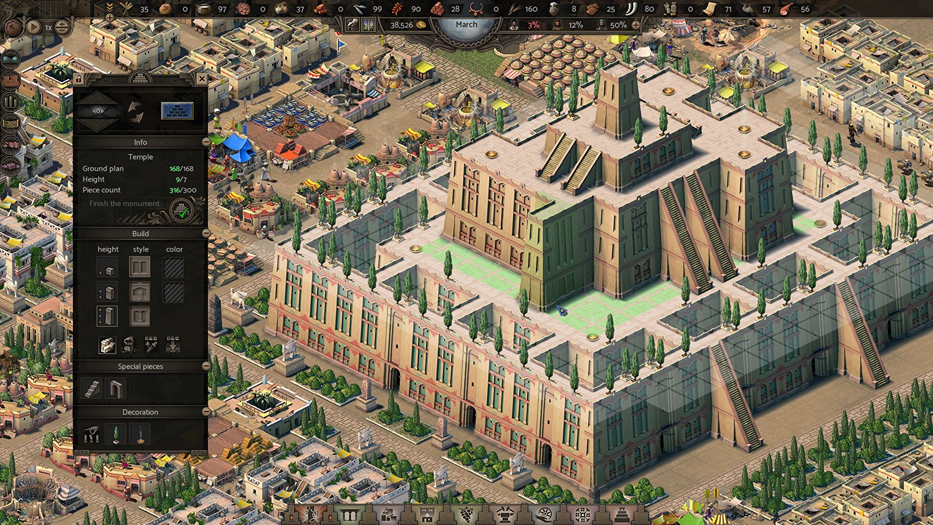 Pharaoh-like city builder Nebuchadnezzar is out now