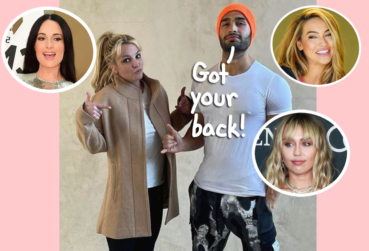 Sam Asghari Breaks Silence After Framing Britney Spears Documentary As Other Celebs Speak Out About The Singer!