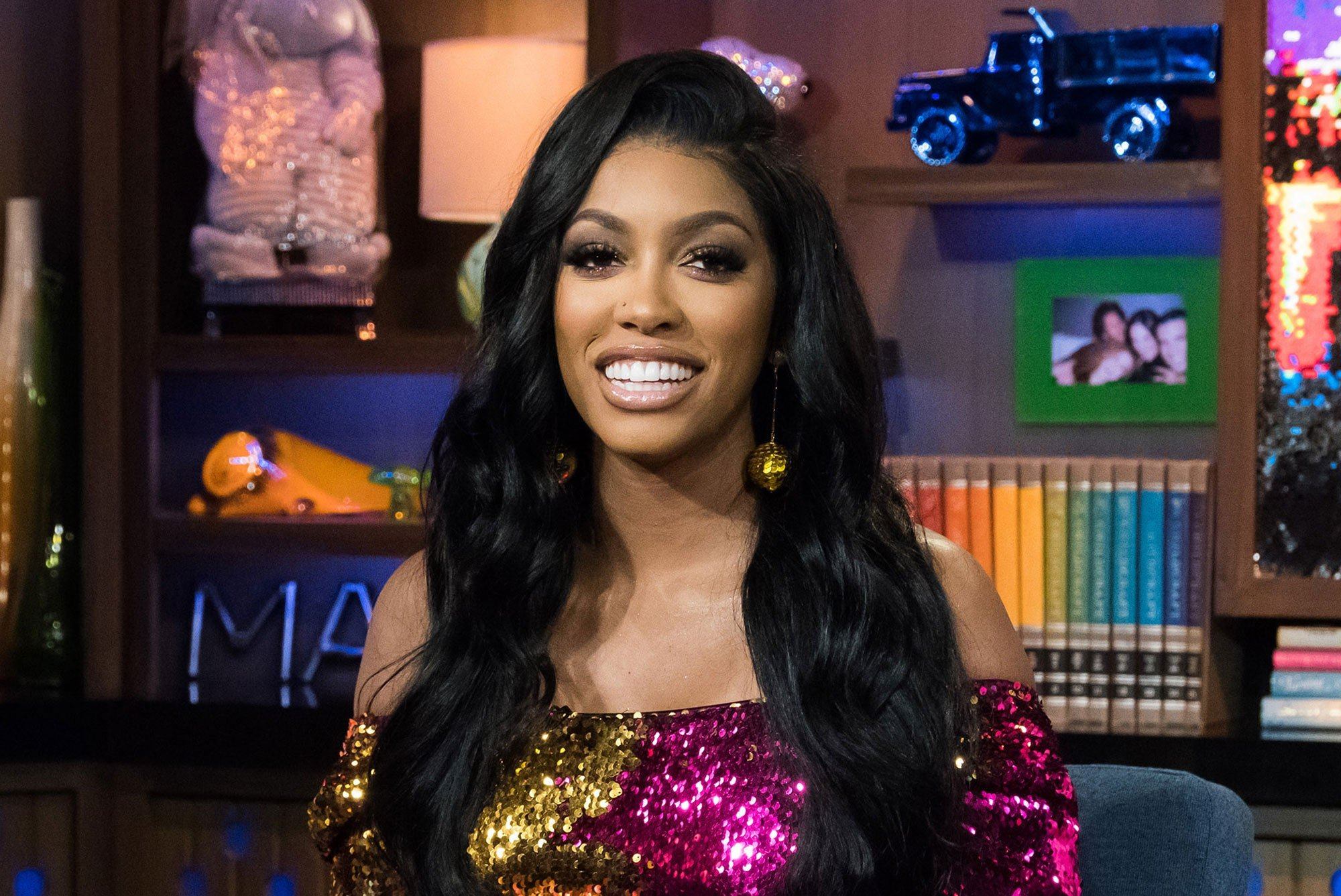 Porsha Williams Shares The Cutest Video Featuring Pilar Jhena