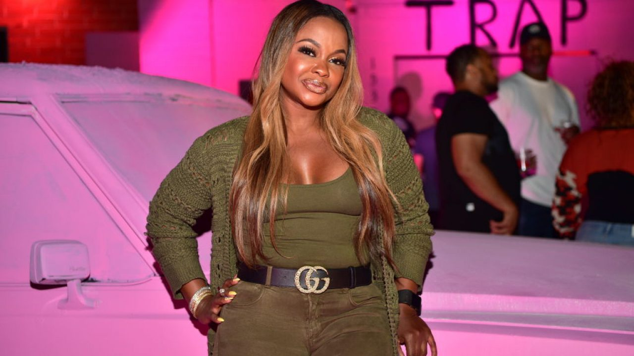 Phaedra Parks Doesn't Have To Get Ready Because She Stays Ready – Check Out Her Photo
