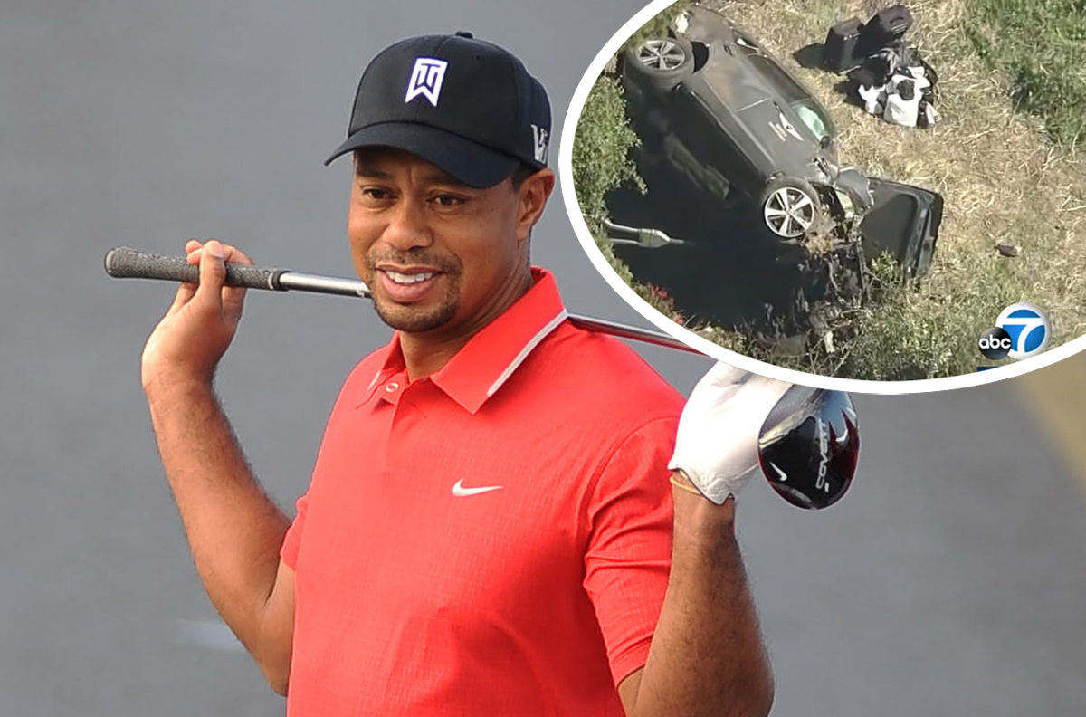 Tiger Woods Will NOT Face Criminal Charges Over Car Crash!