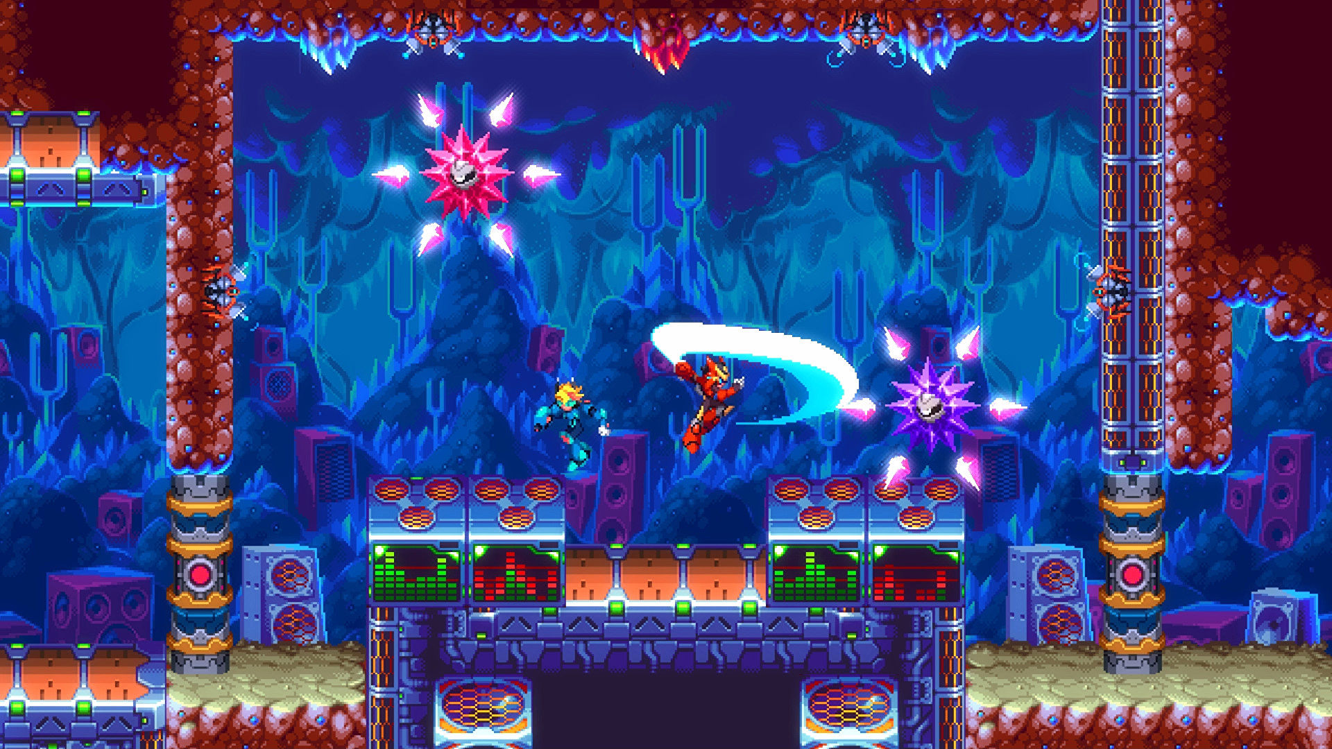 Roguelike platformer 30XX launches in early access