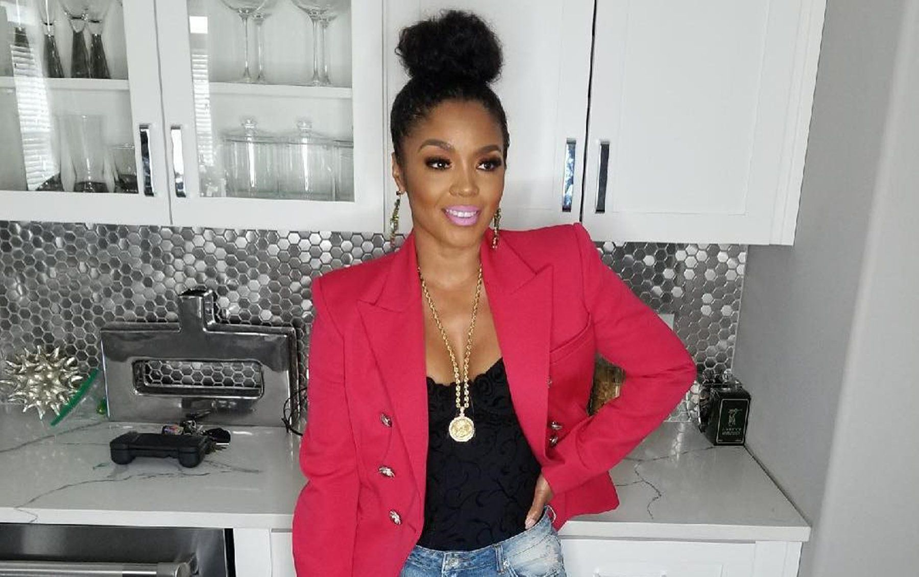 Rasheeda Frost Impresses Fans With This Outfit – Check Out Her Gorgeous Dress