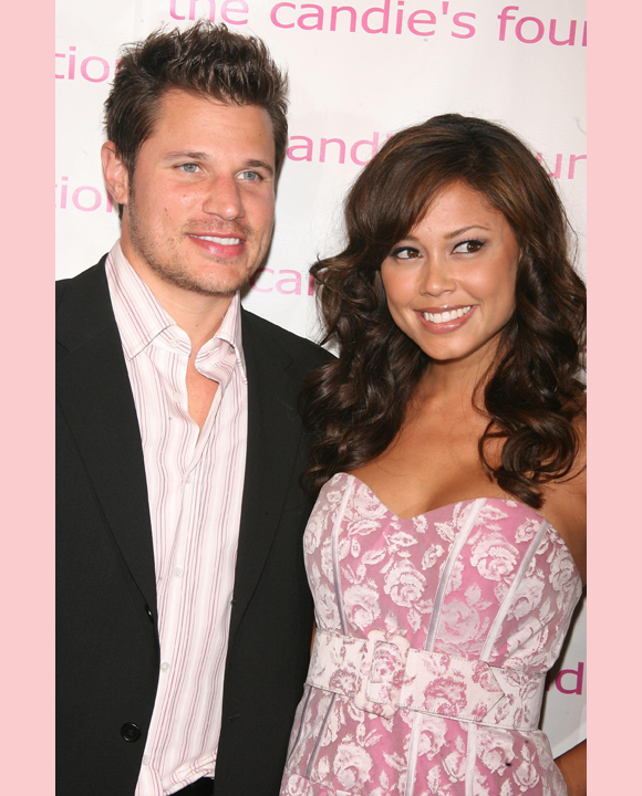 Nick and Vanessa in 2007