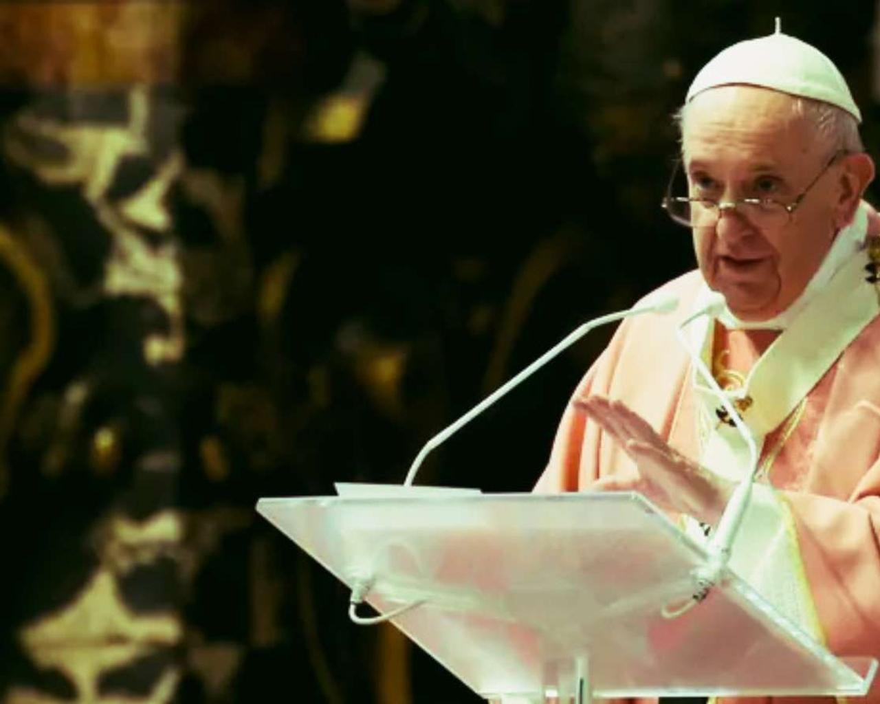 The Vatican reiterates that the Catholic Church cannot bless homosexual unions.