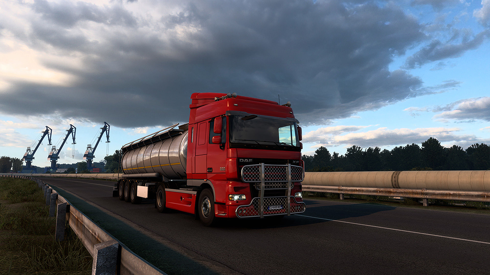 Euro Truck Simulator 2 now has fancier lighting and a fancier Germany