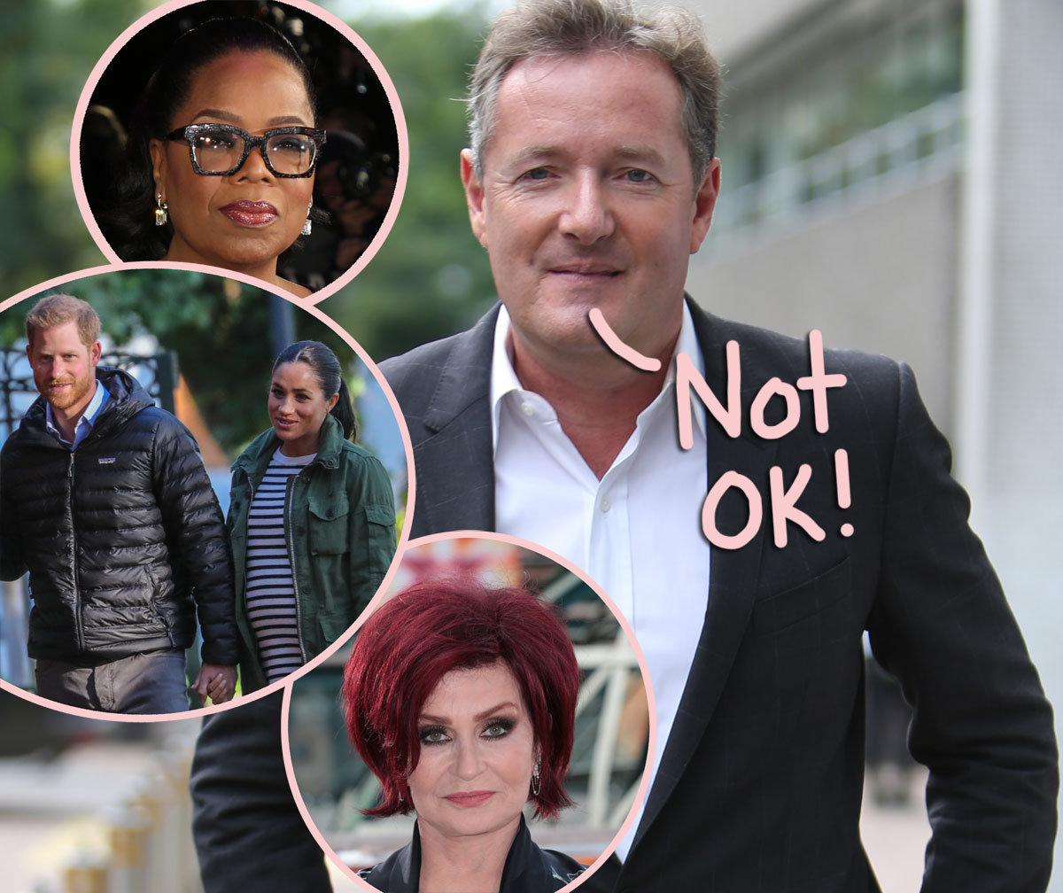 Piers Morgan Says His Sons 'Are All Being Targeted' With 'Threats Of Violence' After His Meghan Markle Comments