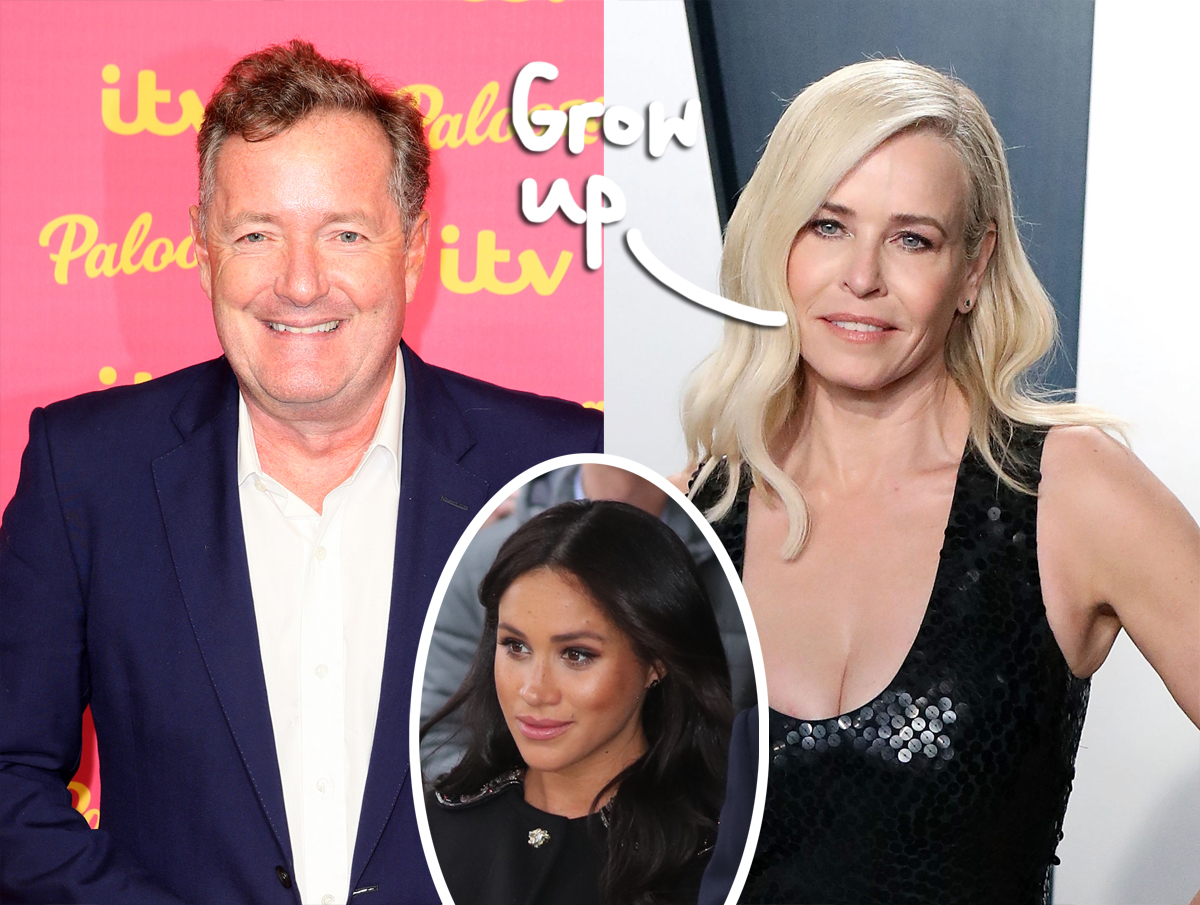 Chelsea Handler SLAMS Piers Morgan By Sharing 2014 Interview, Says He's Stayed 'The Same'