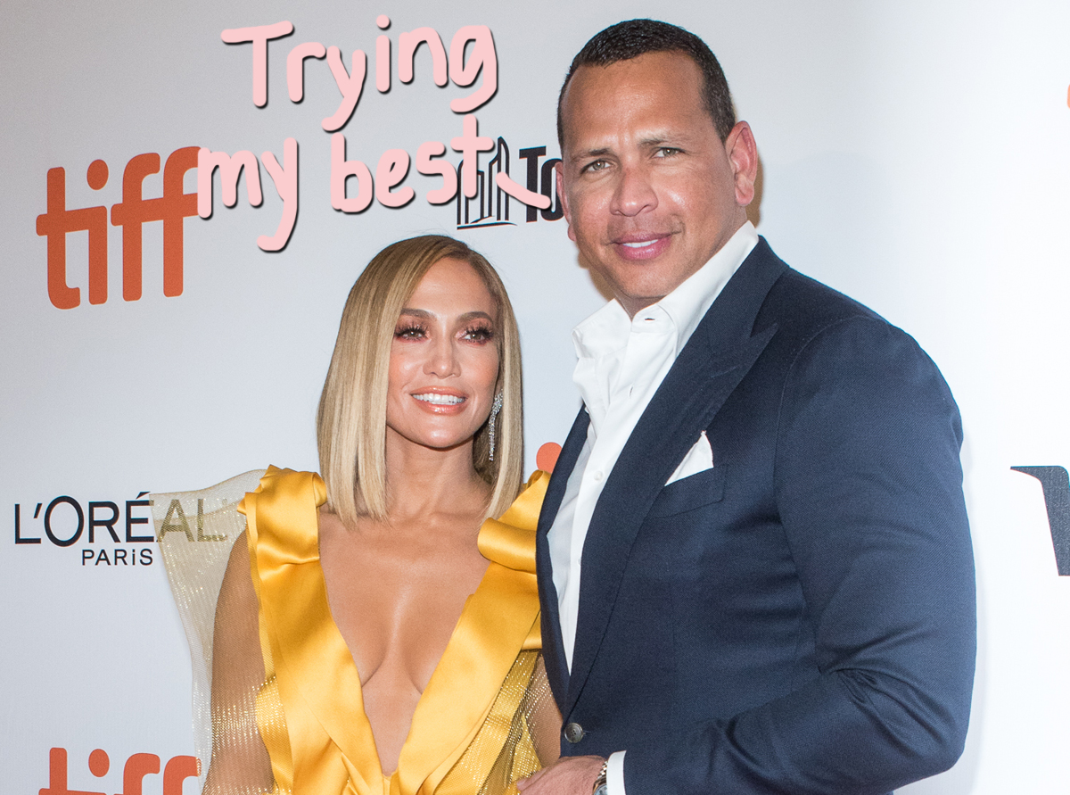 Alex Rodriguez 'Making A Big Effort' To Save His Relationship With Jennifer Lopez — All The Deets Here!