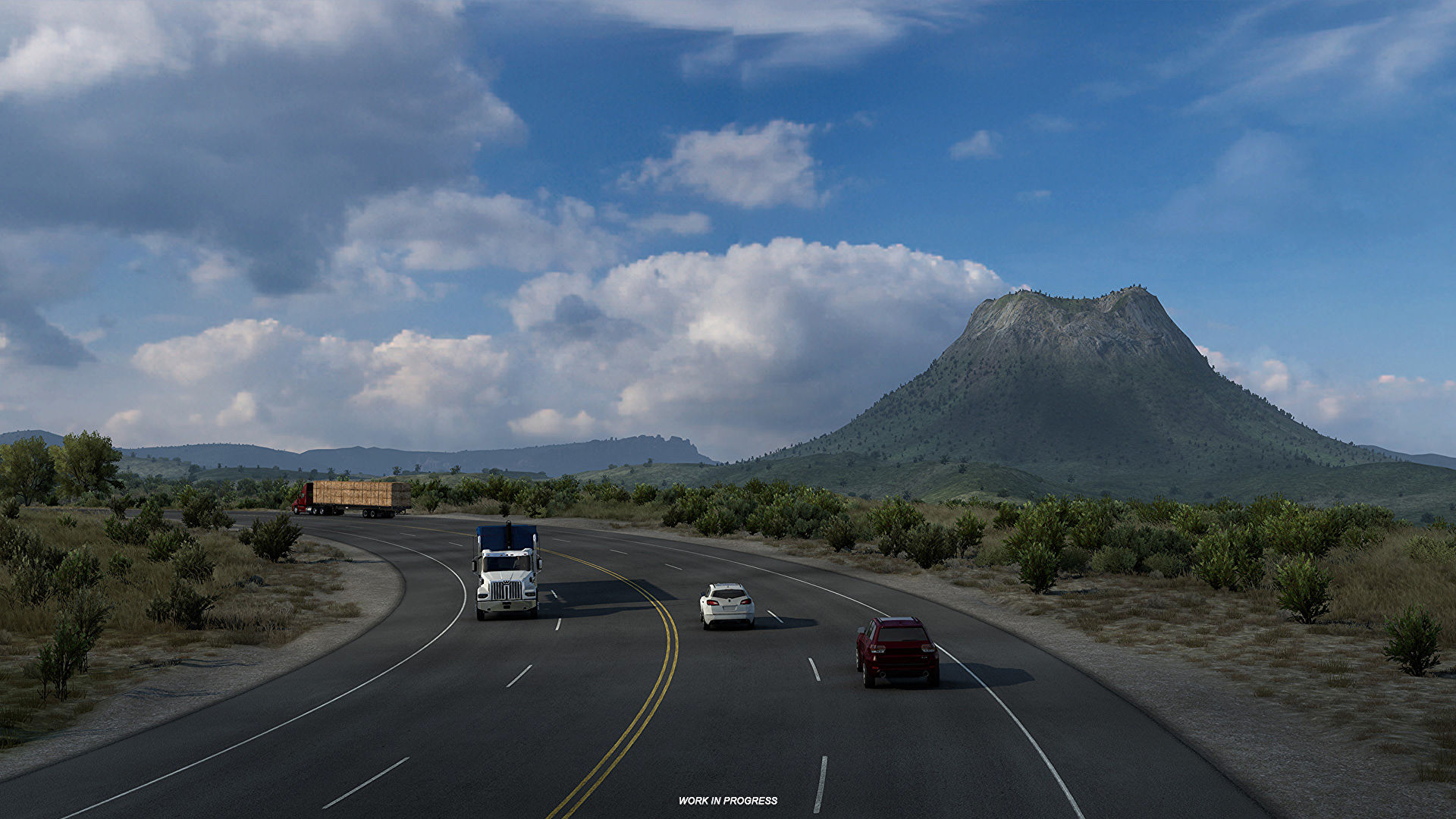 American Truck Simulator will tackle Texas after the Wyoming expansion