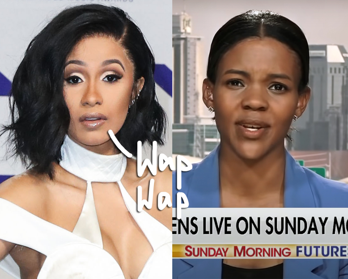 Cardi B & Candace Owens Trade Blows Over The Rapper's WAP Grammys Performance!