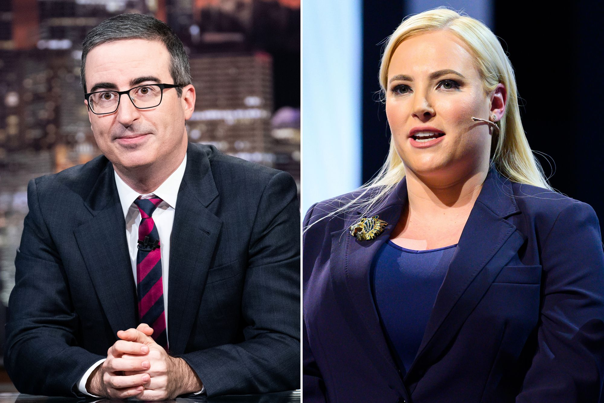 John Oliver Drags Meghan McCain After Calling COVID-19 The 'China Virus' And She Apologizes As A Result!
