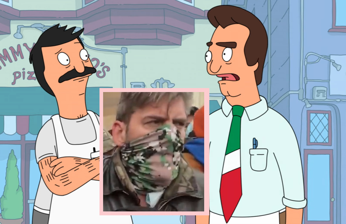 Jimmy Pesto From Bob's Burgers May Have Been Part Of The Capitol Attack
