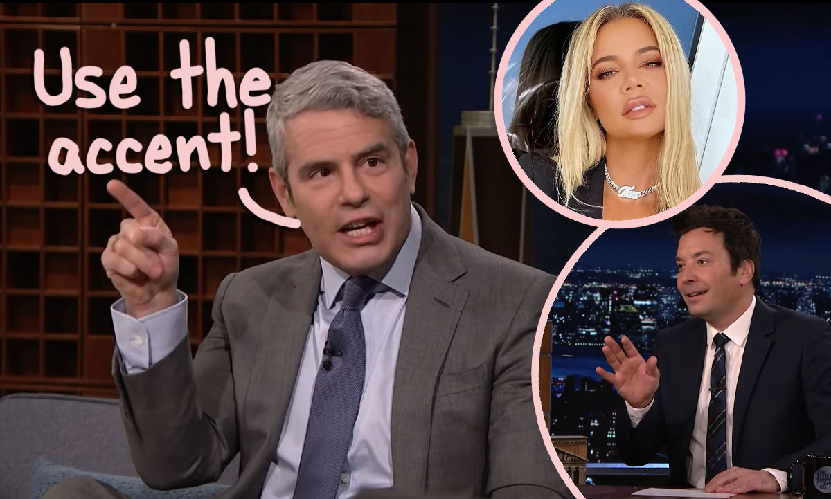 Andy Cohen Says We've ALL Been Mispronouncing Khloé Kardashian's Name This Entire Time!