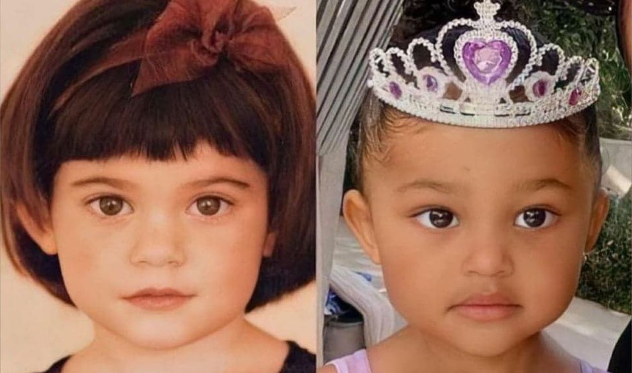 Kylie Jenner Twins With Three-Year-Old Mini-Me Daughter Stormi Webster