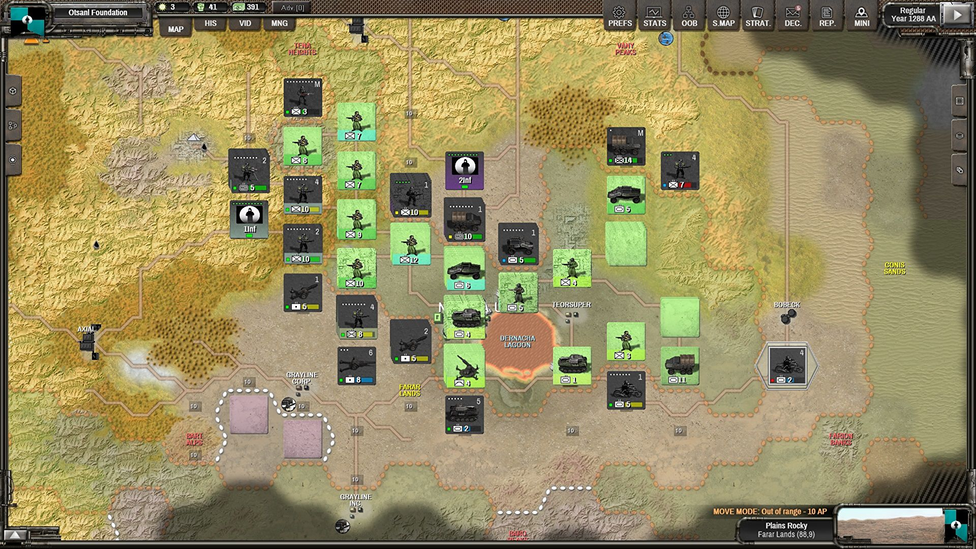 In the war of strategy games, Shadow Empire has already won