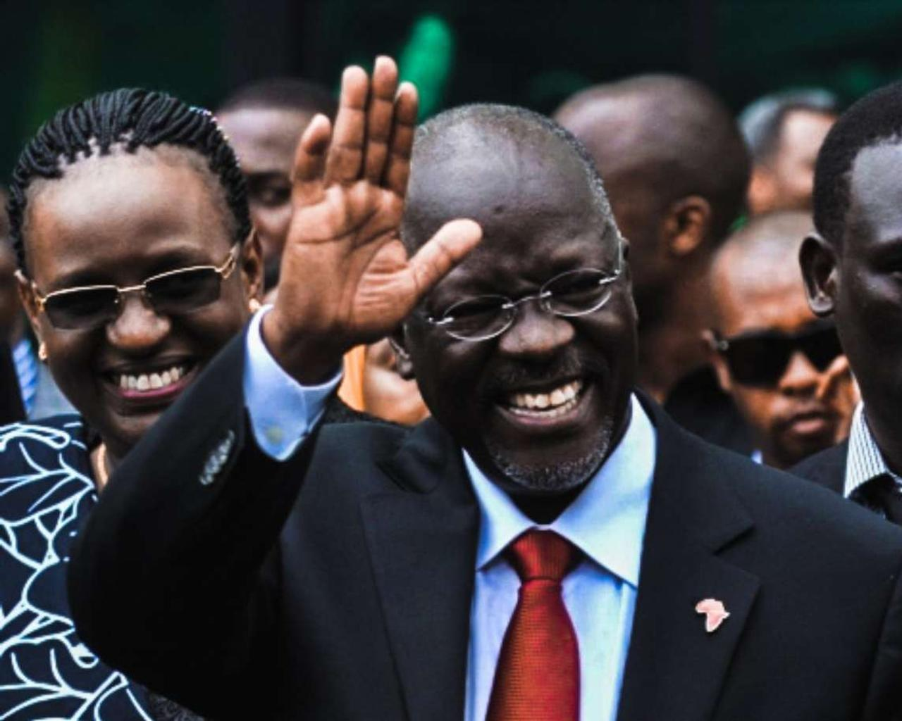The President of Tanzania died of heart problems, according to rumors; the cause was Covid-1.