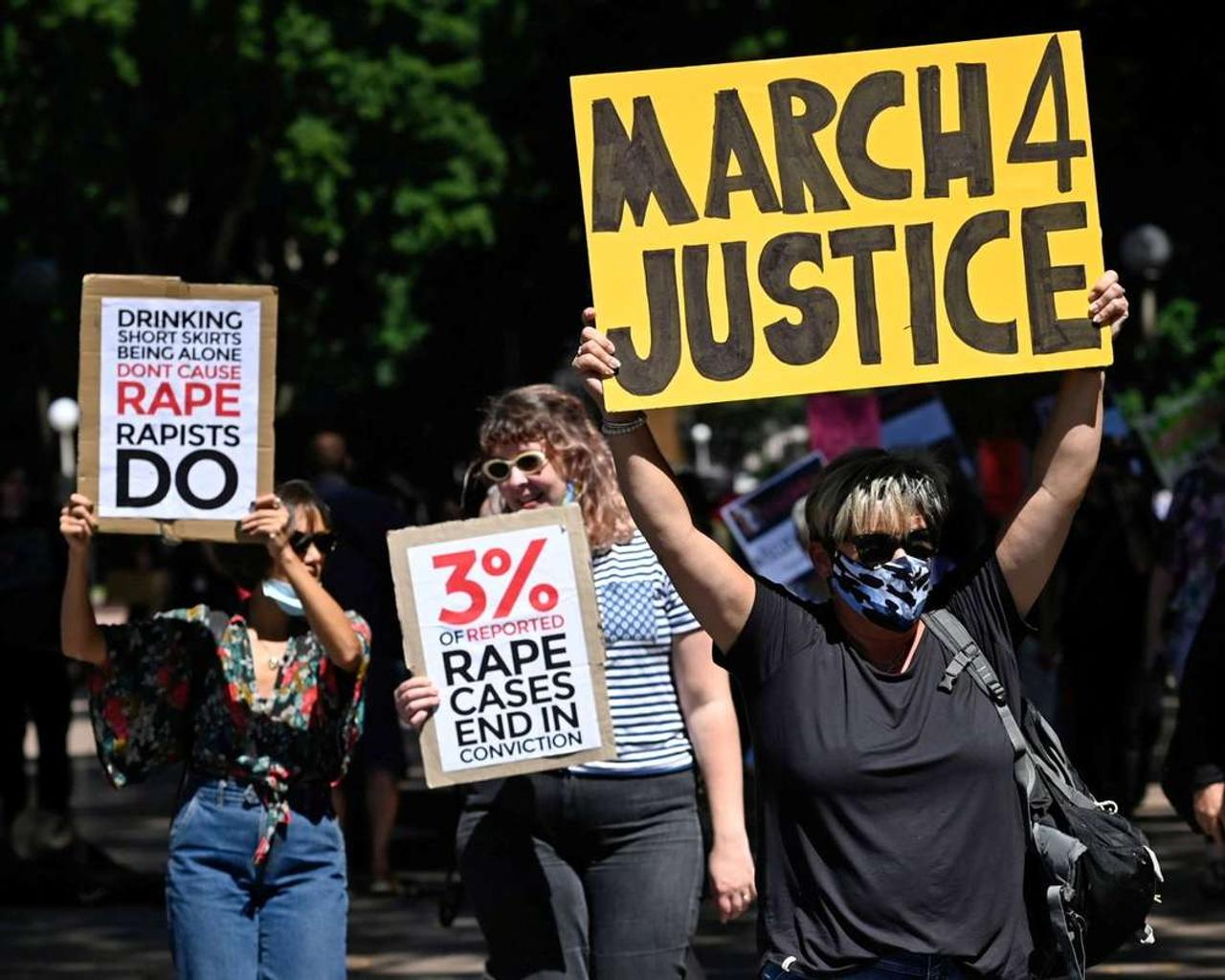 Australia March 4 Justice: Tens of thousands of people have turned out to marches across Australia