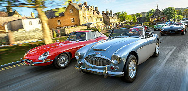 Forza Horizon 4, the best racing game, is now on Steam