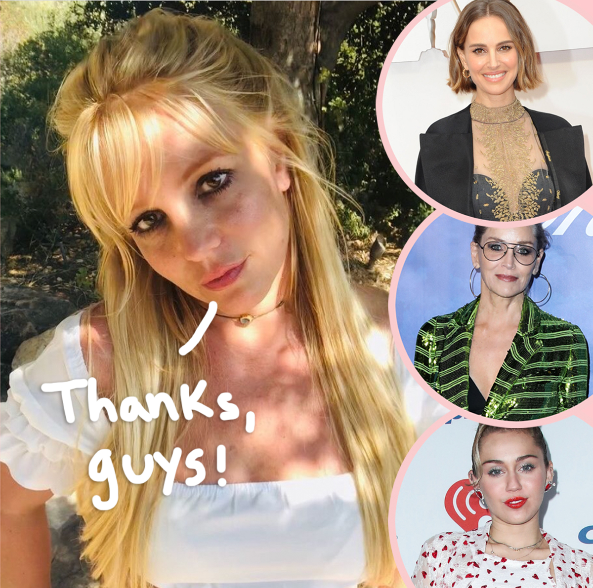 Britney Spears Shows Love To Miley Cyrus & More Stars For Helping Her Through 'Really Hard' Quarantine!
