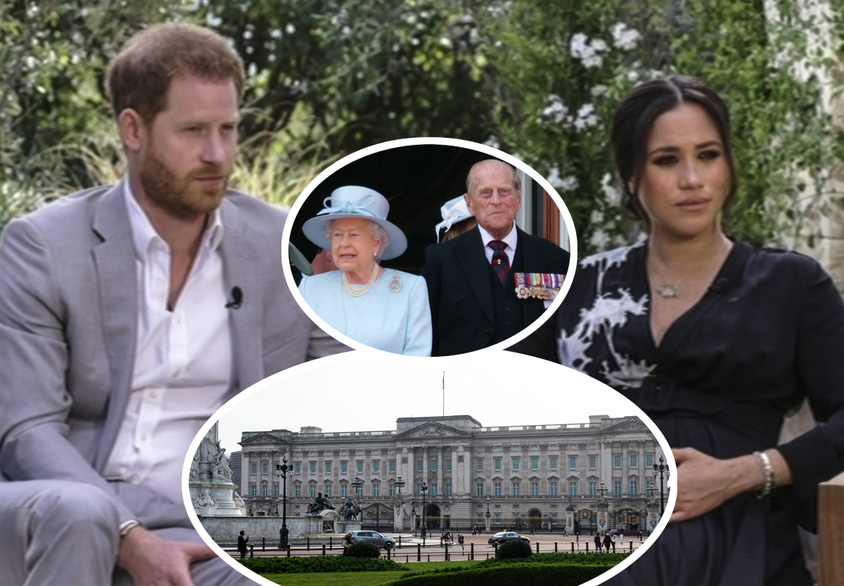 Royal Expert Explains What 'The Institution' & 'The Firm' Are After Meghan Markle & Prince Harry's Oprah Interview