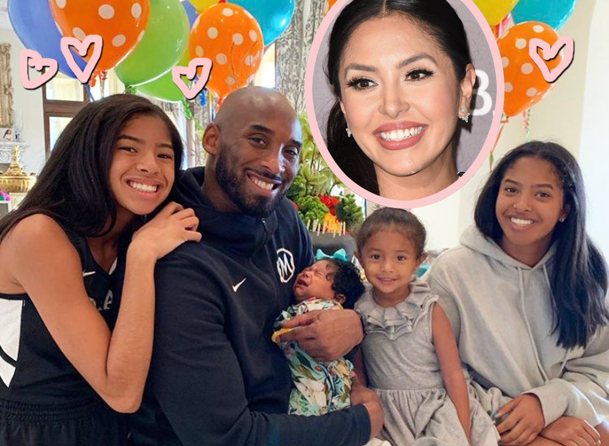 Vanessa Bryant Talks Motivation From Kobe & Gigi, Says Daughters Help Her 'Smile Though The Pain'