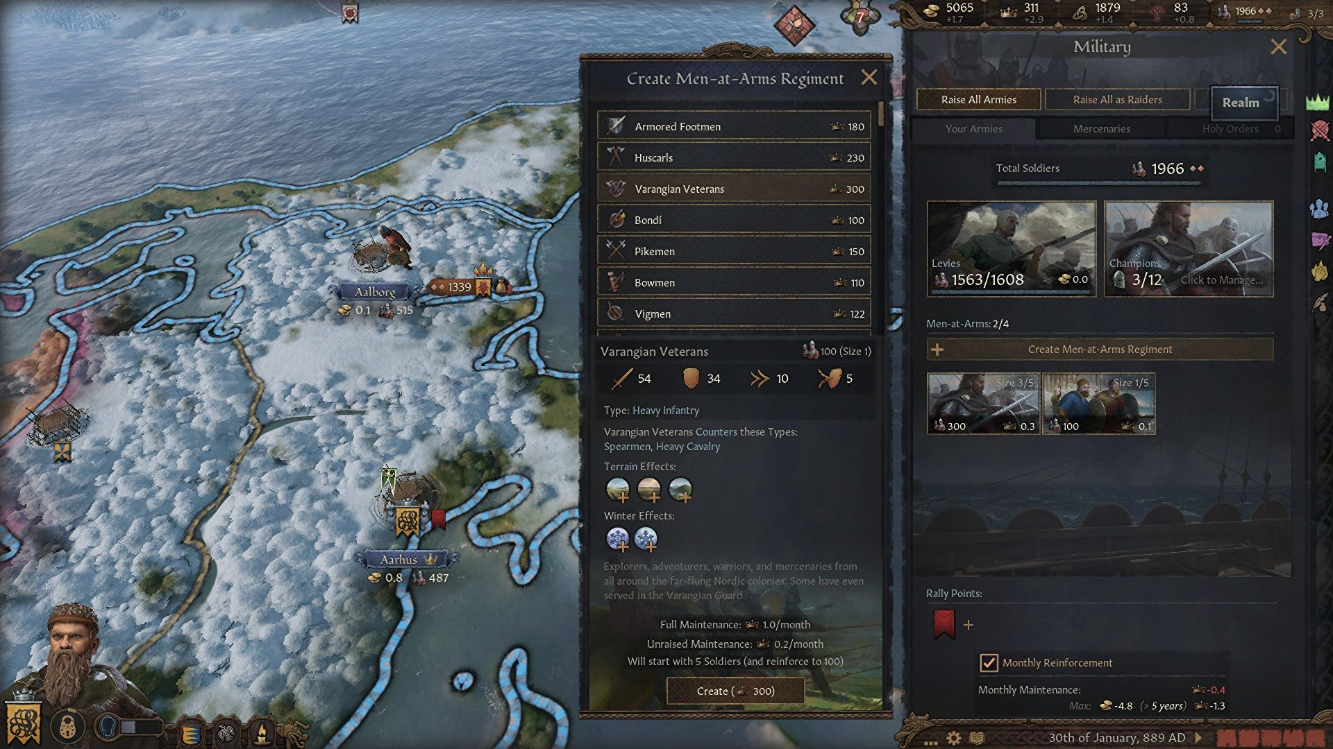 Crusader Kings 3 is getting in on that viking action