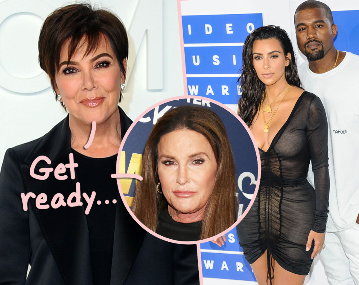 Kris & Caitlyn Jenner BOTH Speak Out About Kimye Divorce And Tease Whether You'll See It On KUWTK Finale!
