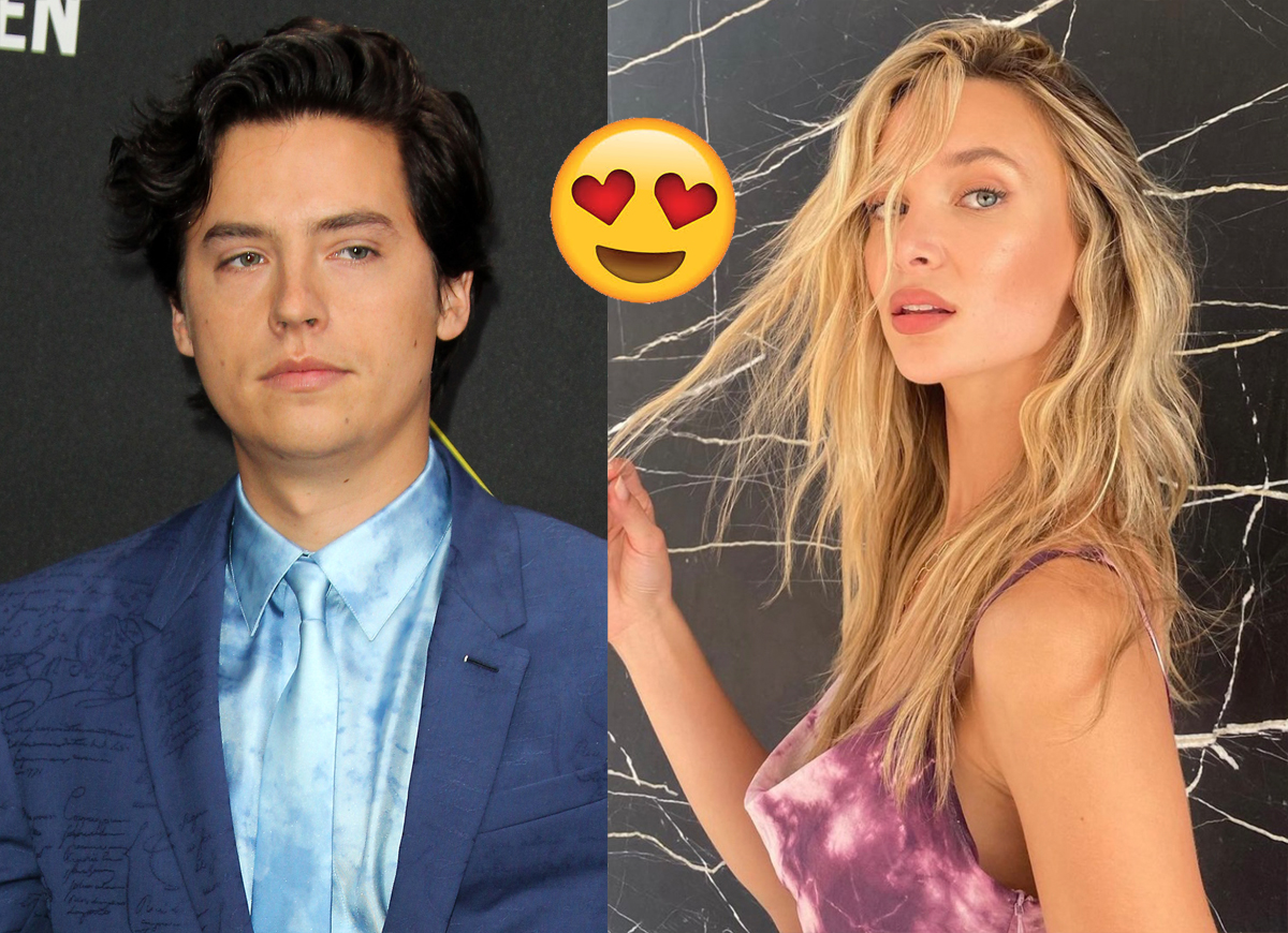 Cole Sprouse & Model Ari Fournier Spotted Holding Hands In Vancouver!
