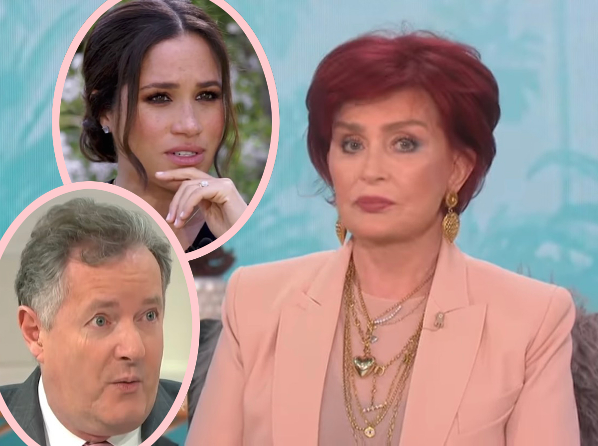 The Talk Cancels Shows Amid Internal Review Surrounding Sharon Osbourne's Heated Defense Of Piers Morgan