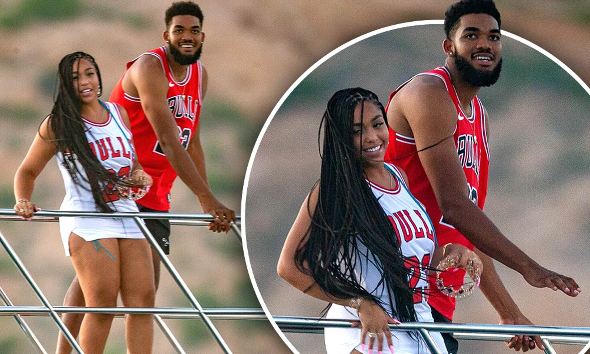 Jordyn Woods Has The Best Time With Her BF, Karl-Anthony Towns – See Their Photos Together
