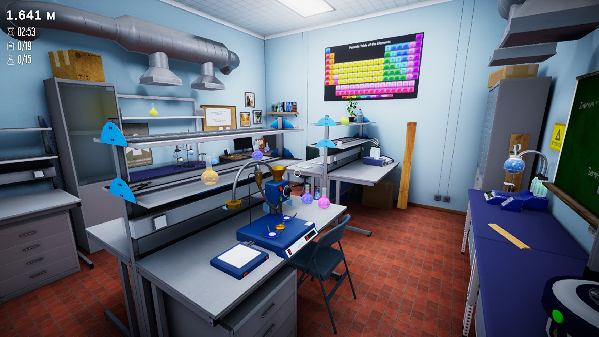 This puzzle game stars a shrinking scientist desperately seeking an antidote
