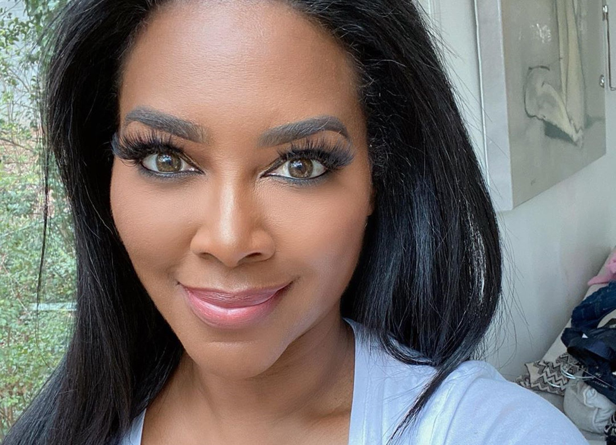 Kenya Moore Addresses The Subject Of Natural Hair – Check Out The Post She Shared