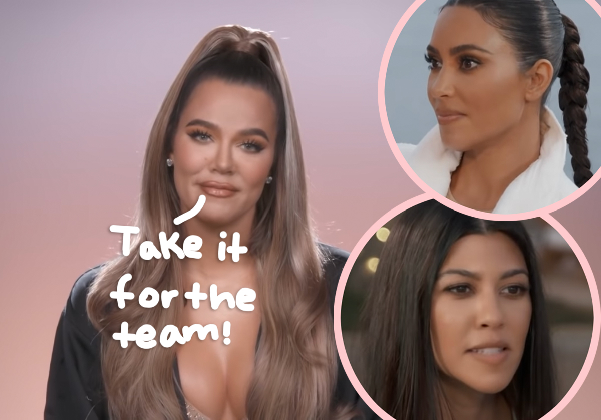 Khloé Kardashian Hammers Kourtney On Her Love Life To 'Distract Kim' From Kanye West Divorce