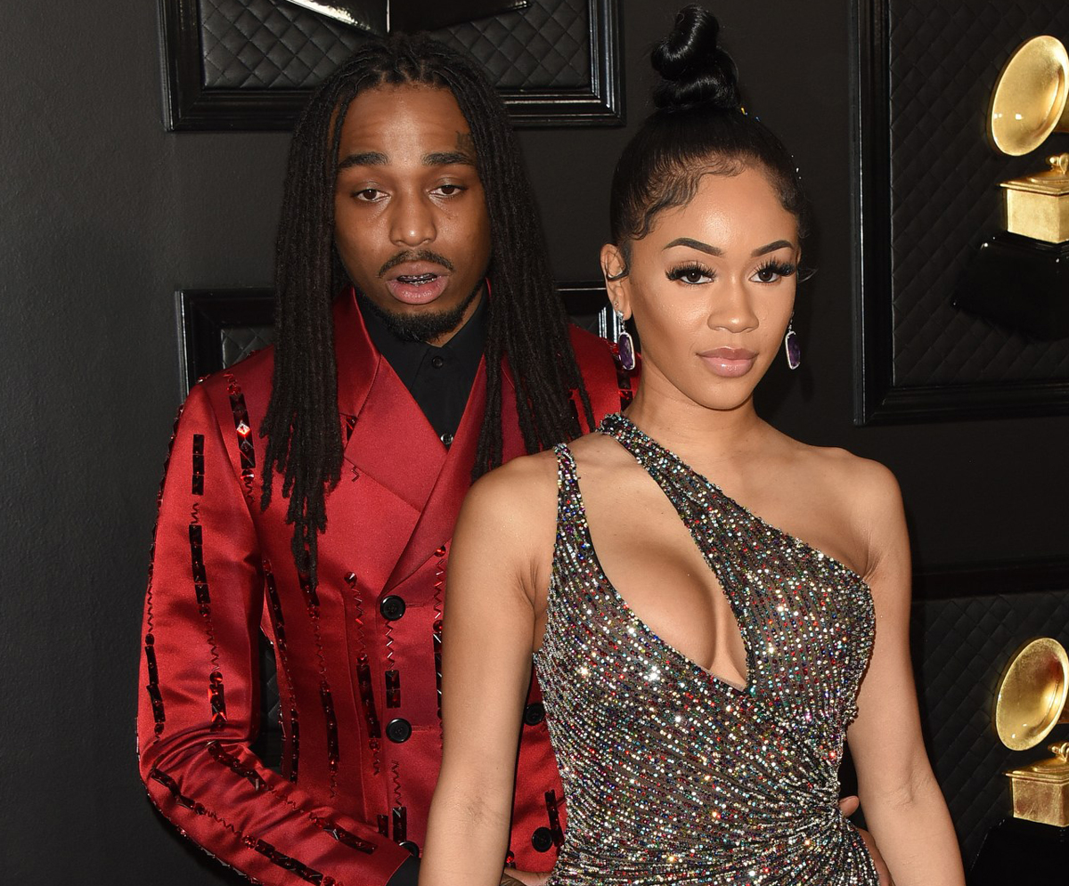 Quavo & Saweetie Got Into A Physical Altercation Before Breakup & It Was All Caught On Video