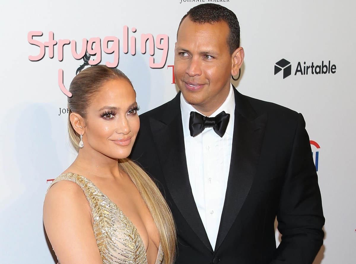 J.Lo & A-Rod Have 'A Lot Of Issues' And She's Been 'Contemplating Breaking Up' With Him For 6 Months!!