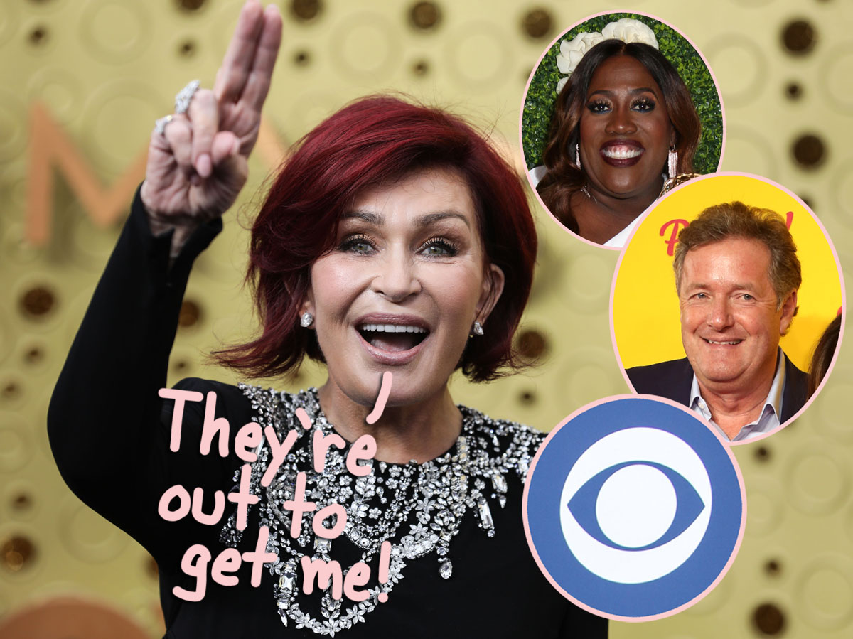 Source Claims Sharon Osbourne Was 'Set Up' By CBS Execs Who Didn't Want To Pay Her Salary Anymore — Really?!