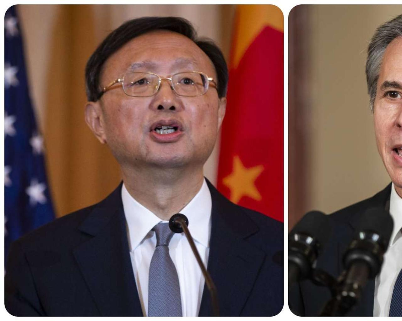 The US and China traded angry words in high-profile Alaska negotiations