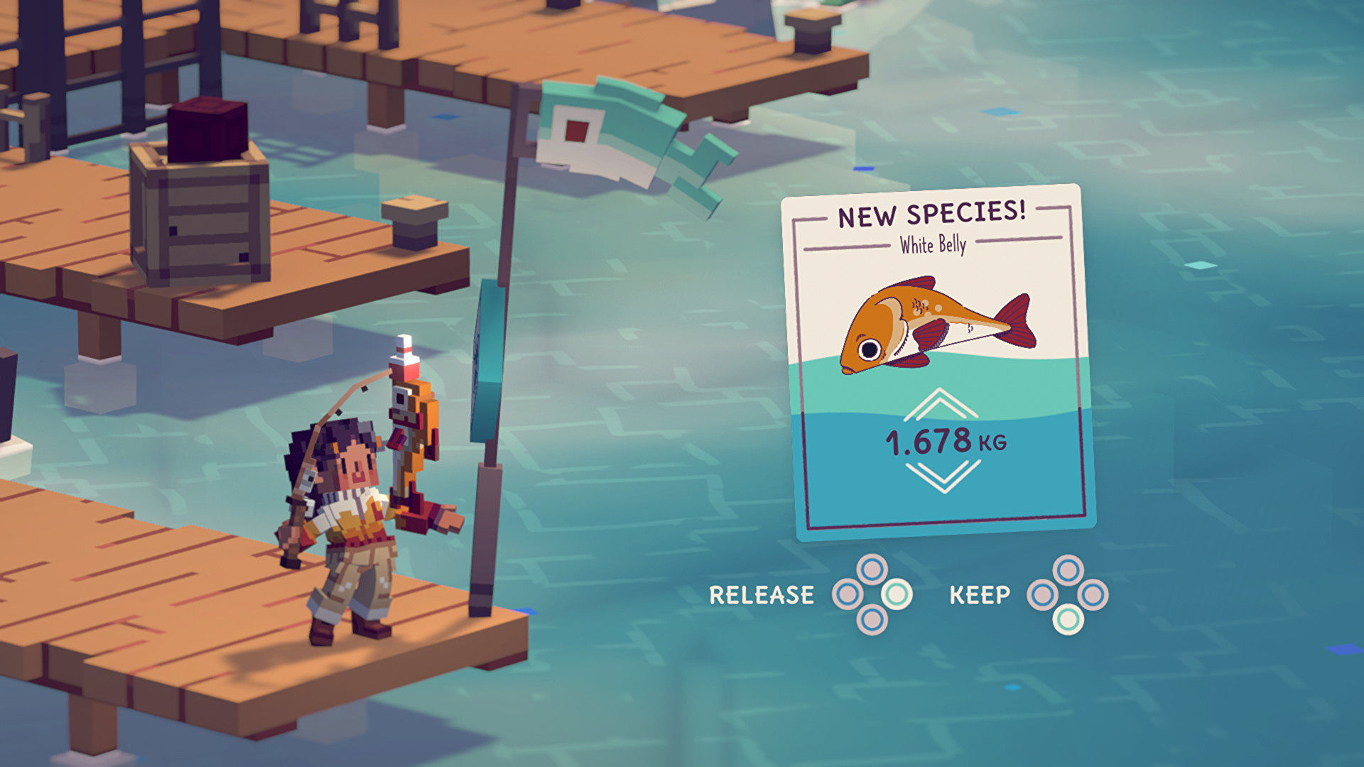 Moonglow Bay is a cute, slice-of-life fishing sim
