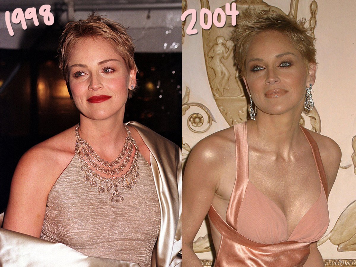 Sharon Stone Claims She Was Given Bigger Breast Implants Without Her Consent! Huh?!